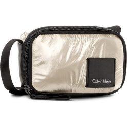 Torebka CALVIN KLEIN BLACK LABEL - Fluid Small Crossbod K60K604039 617. Czarne listonoszki damskie marki Calvin Klein Black Label, z materiału. W wyprzedaży za 269,00 zł.