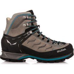 Buty trekkingowe damskie: Salewa Buty damskie  Mountain Trainer Mid Leather Grey Pewter/Ocean r. 40.5 (63441-4053)