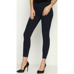 Rurki damskie: Granatowe Spodnie Xylox