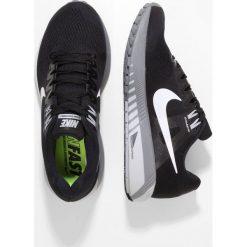Nike Performance AIR ZOOM STRUCTURE 21 Obuwie do biegania Stabilność black/wolf grey/cool grey/white. Czarne buty do biegania damskie Nike Performance, z materiału. Za 499,00 zł.