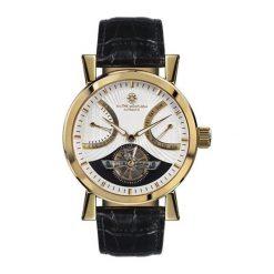 """Zegarki męskie: Zegarek """"MM-24-GOLD-W"""" w kolorze czarno-złotym"""