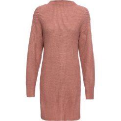 Sweter bonprix dymny brzoskwiniowy. Czerwone swetry klasyczne damskie bonprix. Za 109,99 zł.