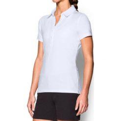 Bluzki damskie: Under Armour Koszulka damska Zinger Polo biała r. S (1272336-100)