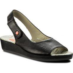 Rzymianki damskie: Sandały SOFTINOS – Allsof P900454000 Black