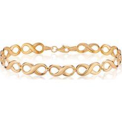 Unikalna Złota Bransoletka - złoto żółte 585. Żółte bransoletki damskie na nogę W.KRUK, złote. Za 1690,00 zł.