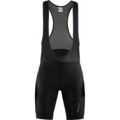 Craft Spodenki rowerowe męskie Rise Bib Shorts Black r. S (1906099 - 999000). Czarne odzież rowerowa męska Craft. Za 233,60 zł.