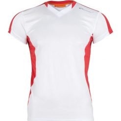 Koszulki do piłki nożnej męskie: Spokey Koszulka męska TS821-MS16-00X biało-czerwona r. M