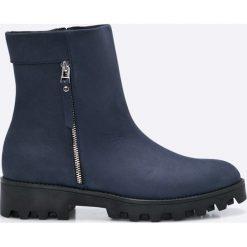 Gino Rossi - Botki Sumi. Szare buty zimowe damskie marki Gino Rossi, z materiału, na obcasie. W wyprzedaży za 249,90 zł.