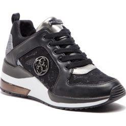 Sneakersy GUESS - FL5JAR LAC12 BLACK. Czarne sneakersy damskie Guess, z materiału. Za 629,00 zł.