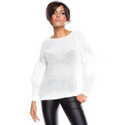 "Swetry klasyczne damskie: Sweter ""Alfortville"" w kolorze białym"