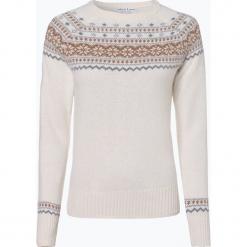 Marie Lund - Sweter damski, beżowy. Brązowe swetry klasyczne damskie Marie Lund, l, z wełny. Za 179,95 zł.