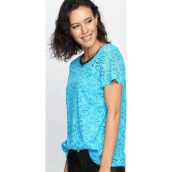 Bluzki asymetryczne: Niebieska Bluzka Do Right Woman