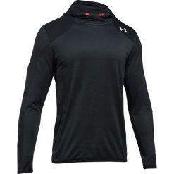 Bluzy męskie: Under Armour Bluza męska ColdGear® Reactor Fleece Hoodie grafitowo-czarna r. L (1299168-016)