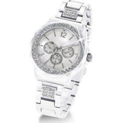 """Zegarki damskie: Zegarek na rękę """"Tiara"""" bonprix biały"""