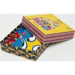 Happy Socks - Skarpety The Beatles. Szare skarpetki męskie Happy Socks, z bawełny. W wyprzedaży za 99,90 zł.