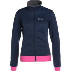 Gore Bike Wear LADY Kurtka Softshell black iris/raspberry rose. Czarne kurtki damskie softshell marki Gore Bike Wear, z materiału, wspinaczkowe. W wyprzedaży za 468,30 zł.