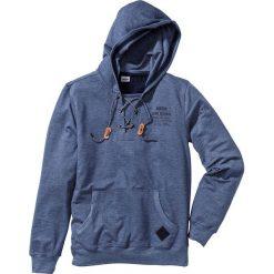 Bluza Regular Fit bonprix kobaltowy. Czarne bluzy męskie rozpinane marki bonprix. Za 49,99 zł.
