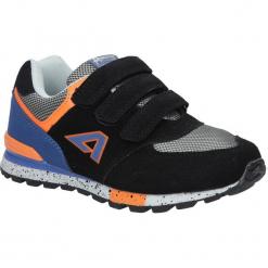 Czarne buty sportowe na rzepy American K15110G. Czarne buciki niemowlęce American, na rzepy. Za 69,99 zł.