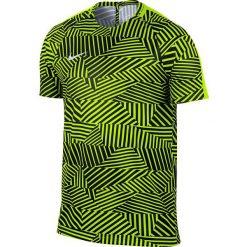 Nike Koszulka męska Dry Football Top SS czarno-żółta r. XL ( 807073 702). Czarne t-shirty męskie marki Nike, m, do piłki nożnej. Za 80,46 zł.