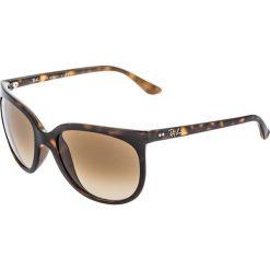 RayBan CATS Okulary przeciwsłoneczne dark brown. Szare okulary przeciwsłoneczne damskie lenonki marki Ray-Ban, z materiału. Za 619,00 zł.