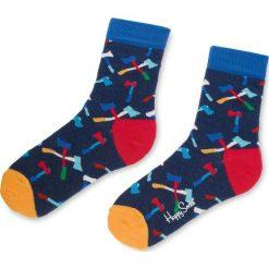 Skarpety Wysokie Unisex HAPPY SOCKS - AXE01-6000 Granatowy Kolorowy. Czerwone skarpetki męskie marki Happy Socks, z bawełny. Za 34,90 zł.