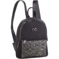 Plecak NOBO - NBAG-F2730-C020 Czarny. Czarne plecaki damskie Nobo, z materiału. W wyprzedaży za 199,00 zł.