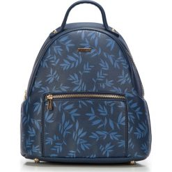 Plecak damski 87-4Y-573-7. Niebieskie plecaki damskie marki Wittchen. Za 229,00 zł.