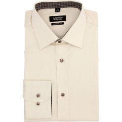 Koszula bexley 1571 długi rękaw custom fit beż. Szare koszule męskie non-iron marki Recman, m, z długim rękawem. Za 29,99 zł.