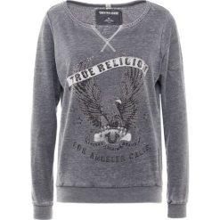 True Religion CREW EAGLE BLACK Bluza dark grey melange. Czarne bluzy rozpinane damskie True Religion, xs, z bawełny. Za 589,00 zł.
