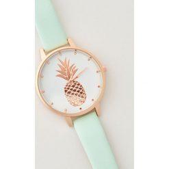 Zegarki damskie: Zegarek z ananasem - Wielobarwn