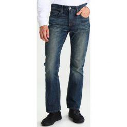 Levi's® 527 SLIM BOOT CUT Jeansy Bootcut bedside blues. Niebieskie jeansy męskie slim marki Levi's®, z bawełny. W wyprzedaży za 319,20 zł.