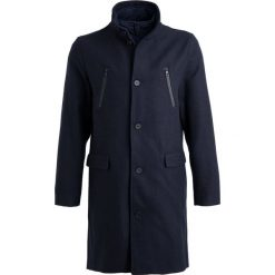 Pier One Płaszcz zimowy dark blue. Niebieskie płaszcze wełniane męskie marki Pier One, na zimę, m. Za 509,00 zł.
