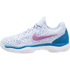 Nike Performance AIR ZOOM CAGE 3 HC Obuwie multicourt royal tint/monarch purple/white/military blue. Niebieskie buty do tenisu damskie Nike Performance. Za 549,00 zł.