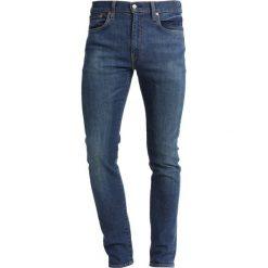 Levi's® 519 EXTREME SKINNY FIT Jeans Skinny Fit blue denim. Niebieskie rurki męskie marki Levi's®, z bawełny. Za 399,00 zł.
