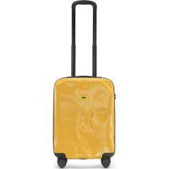 Walizka Icon kabinowa matowa żółta. Szare walizki marki Crash Baggage, z materiału. Za 880,00 zł.