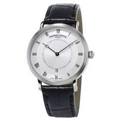 ZEGAREK FREDERIQUE CONSTANT Slimline Classics Automatic FC-306MC4S36. Białe zegarki męskie FREDERIC CONSTANT, ze stali. Za 7499,00 zł.