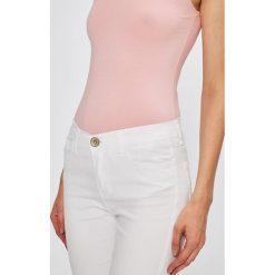 Spodnie damskie: Miss Poem - Jeansy Beyaz