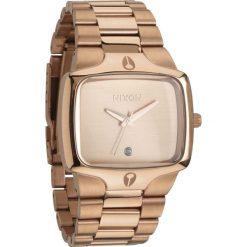 Zegarek unisex All Rose Gold Nixon Player A1401897. Czerwone zegarki damskie Nixon. Za 863,00 zł.
