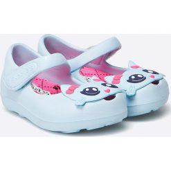 Skechers - Baleriny dziecięce. Szare baleriny dziewczęce marki Skechers, z materiału. W wyprzedaży za 49,90 zł.