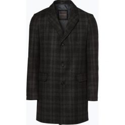 Finshley & Harding - Płaszcz męski – Black Label, szary. Czarne płaszcze na zamek męskie marki Finshley & Harding, w kratkę. Za 599,95 zł.