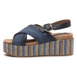 Wrangler Sandały Damskie Tempura Straw 40 Niebieski. Niebieskie sandały damskie Wrangler. W wyprzedaży za 169,00 zł.