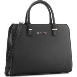 Torebka JENNY FAIRY - RC13351 Black. Czarne torebki klasyczne damskie Jenny Fairy, ze skóry ekologicznej. Za 99,99 zł.