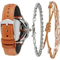 Biżuteria i zegarki damskie: Fossil ABILENE SET Zegarek chronograficzny braun