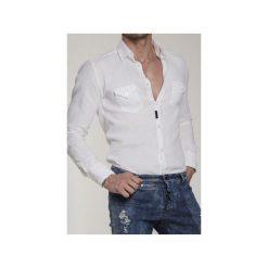 Koszula BLACK COLT CLASSIC 1. Białe koszule męskie na spinki Guns&tuxedos, z tkaniny. Za 399,00 zł.