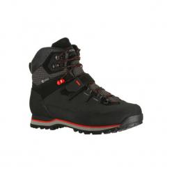 Buty trekkingowe wysokie TREK 700 męskie. Czarne buty trekkingowe męskie FORCLAZ, z kauczuku, trekkingowe. Za 499,99 zł.
