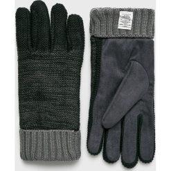 Pepe Jeans - Rękawiczki Eley. Czarne rękawiczki męskie Pepe Jeans, z dzianiny. Za 139,90 zł.