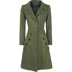 Voodoo Vixen Nicole Green 40s Style Coat Płaszcz damski oliwkowy. Zielone płaszcze damskie Voodoo Vixen, m. Za 527,90 zł.