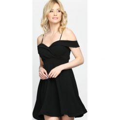 Sukienki: Czarna Sukienka Party Favors