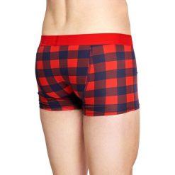 Happy Socks - Bokserki Lumberjack. Różowe bokserki męskie Happy Socks, z bawełny. W wyprzedaży za 59,90 zł.