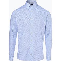 Joop - Koszula męska – Pierce, niebieski. Szare koszule męskie marki JOOP!, z bawełny, z klasycznym kołnierzykiem, z długim rękawem. Za 349,95 zł.